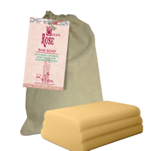REFAN Ziepes audekla maisiņā «Rožu karaliene»