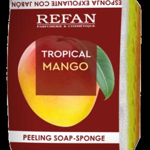 REFAN Pīlinga ziepju sūklis Tropical Mango