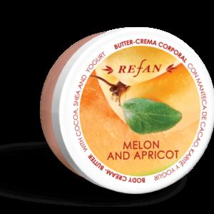 REFAN Ķermeņa krēmsviests «Melone un aprikoze»