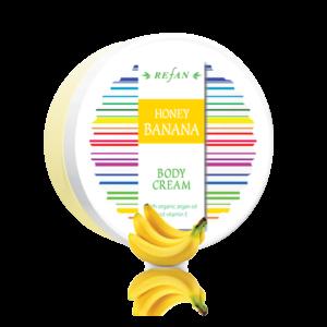 REFAN Ķermeņa krēms «Medus banāns»