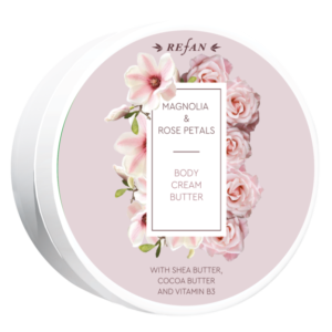 REFAN Krēms - sviests Magnolijas un rožu ziedlapiņas