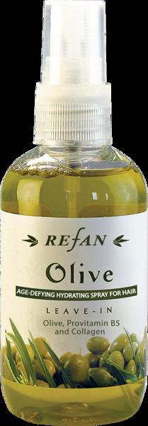 REFAN Izsmidzināms kondicionieris matu atjaunošanai «Olīva»