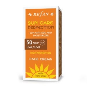 REFAN Sejas krems SPF 50 UVA/ UVB SUN CARE PERFECTION