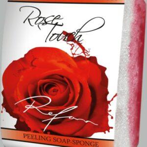REFAN Pīlinga ziepju sūklis «Rozes pieskāriens»