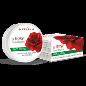 REFAN Sejas krēms ar E vitamīnu «Roze no Bulgārijas»