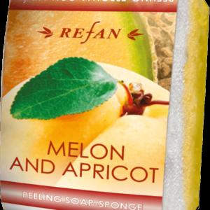 REFAN Pīlinga ziepju sūklis «Melone un aprikoze»