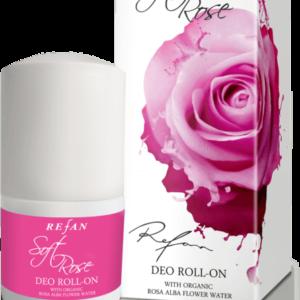 REFAN Ķermeņa dezodorants «Maigā roze»