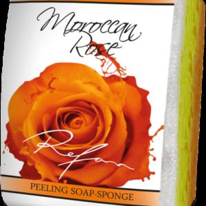 REFAN Pīlinga ziepju sūklis «Marokas roze»