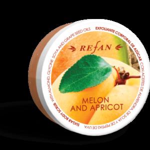 REFAN Ķermeņa skrubis «Melone un aprikoze»